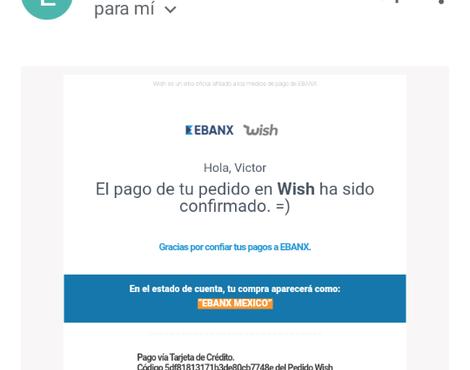Reclamo a Ebanx